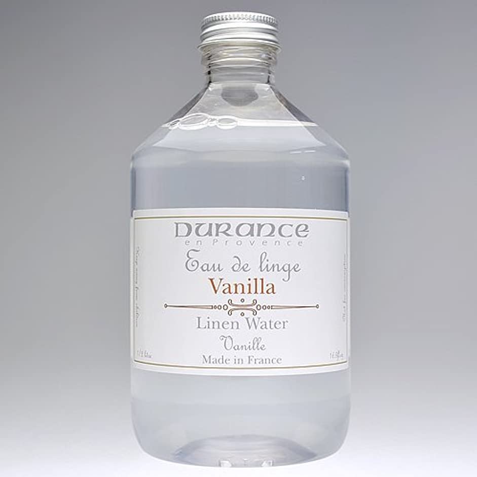 堀酔っ払い接続詞DURANCE(デュランス) リネンケアシリーズ リネンウォーター 500ml 「バニラ」 4994228006776