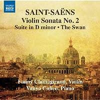 サン=サーンス:ヴァイオリンとピアノのための作品集 第2集