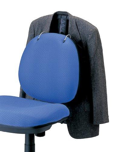 ナカバヤシ デスクチェア チェアハンガー 服の神 ブラック 81889