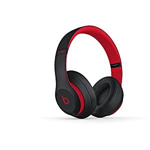 Beats by Dr.Dre ワイヤレスヘッドホン Studio3 Wireless Bluetooth対応 密閉型 オーバーイヤー ノイズキャンセリング レジスタンス・ブラックレッド 【国内正規品】 MRQ82PA/A