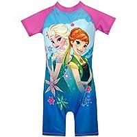 Disney Girls Frozen Swimsuit Blue Size 2