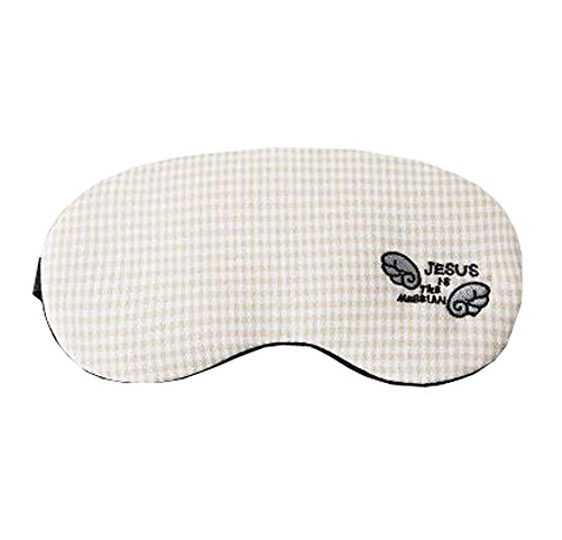 十適切な脈拍快適なかわいい目のマスクは、睡眠の作業のための不眠症とストレスを緩和する、F