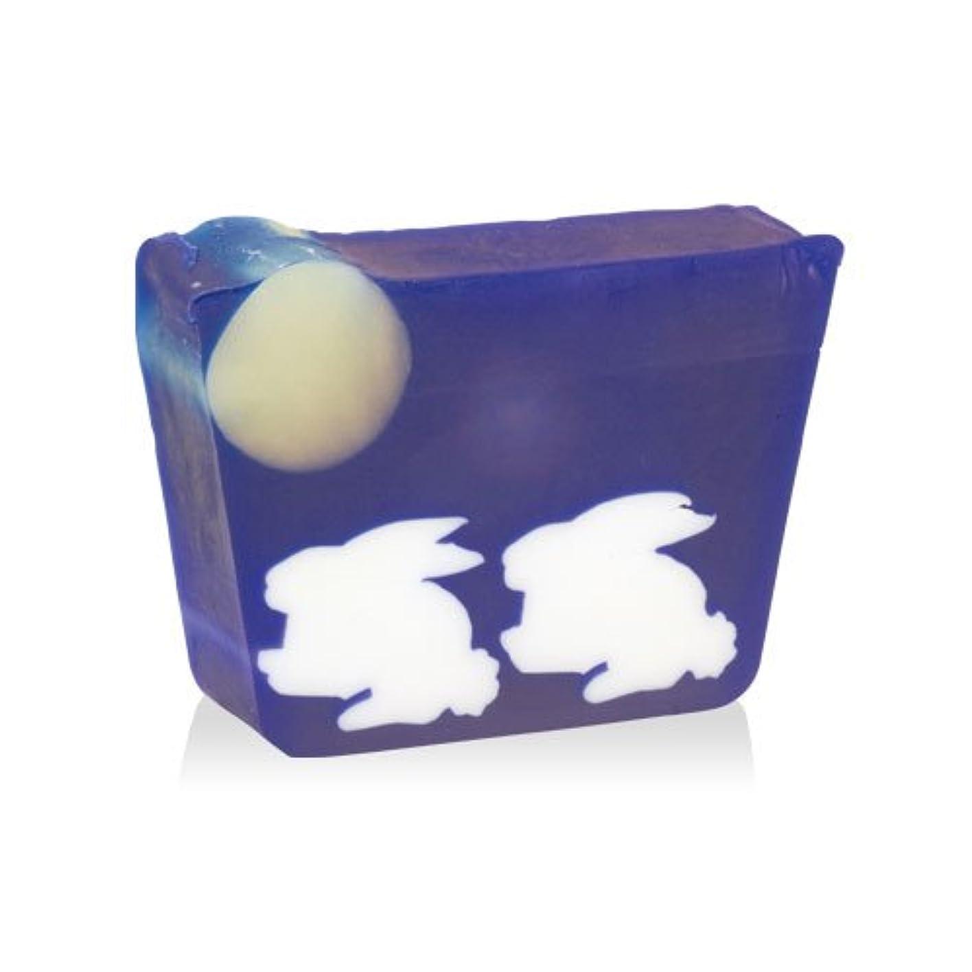 おもしろい治世海上プライモールエレメンツ アロマティック ミニソープ 月とうさぎ 80g 植物性 ナチュラル 石鹸 無添加