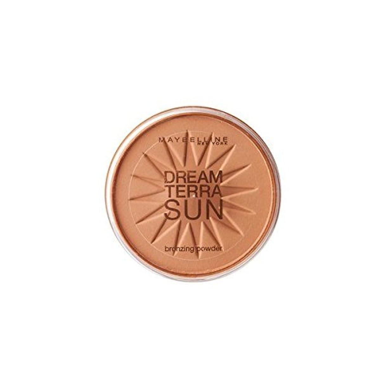 軽く欲求不満精度Gemey Maybelline Dream TerraSun Poudre de Soleil 03 Bronze