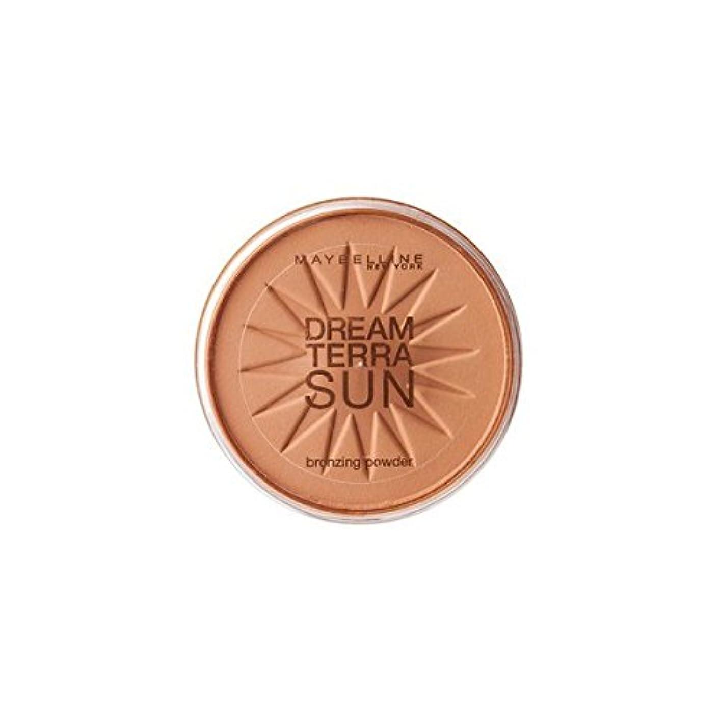 遅い交渉する悪性腫瘍Gemey Maybelline Dream TerraSun Poudre de Soleil 03 Bronze