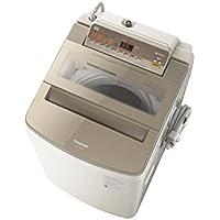 パナソニック 10.0kg 全自動洗濯機 泡洗浄W ブラウン NA-FA100H6-T