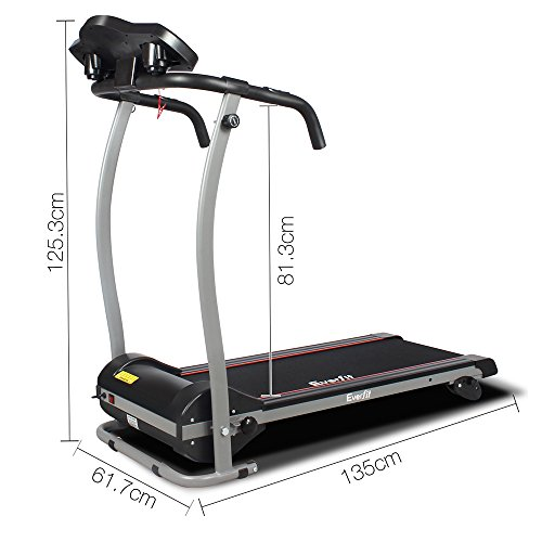 1615dca1ab9 Electric Treadmill Motorised Running Exercise Machine Home Gym Fitness  Equipment Everfit Lightweight.