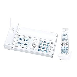 パナソニック デジタルコードレスFAX 子機1台付き 迷惑電話対策機能搭載 ホワイト KX-PD515DL-W