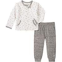 CALVIN KLEIN Baby Boys' 2 Pieces Cardigan Pants Set