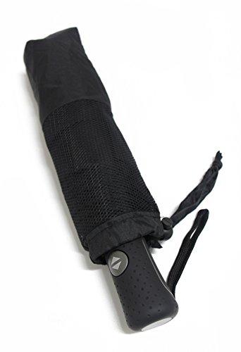 PARACHASE 折りたたみ傘 メンズ 傘 自動開閉 大きい 風が抜ける 強風対応 ワンタッチ 耐風 おしゃれ 男性 紳士 8本骨 直径118cm(K3-ブラック)