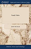 Family Tables: Being a Collection of Such Tables as Are Useful To, and Daily Wanted in Every Family, Accurately Framed by Dr. John Trusler