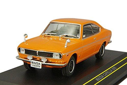 FIRST:43 1/43 マツダ カペラ 1970 オレンジ