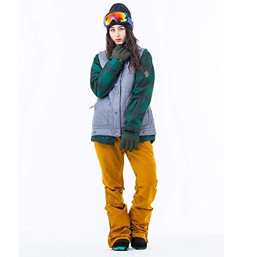 スノーボードウェア レディース スキーウェア スノボウェア 上下セット ジャケット パンツ SECRET GARDEN P...