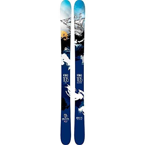 [해외] (아이스 런 T구 squeegee) ICELANTIC SKIS 맨즈 스키・스노보드 보드・판 NOMAD 105 SKIS - 2017/2018 [병행수입품]-