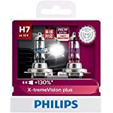 Philips X-treme Vision Plus 130% H7 12V globe - twin display pack