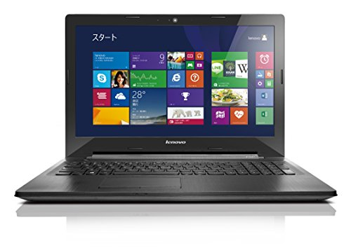 Lenovo ノートPC G50 [Windows10無料アップデート対応](Windows 8.1 64bit/Office Home & Business 2013 Premium プラス Office 365 サービス/15.6型/AMD E1-6010 APU)80E3017JJP