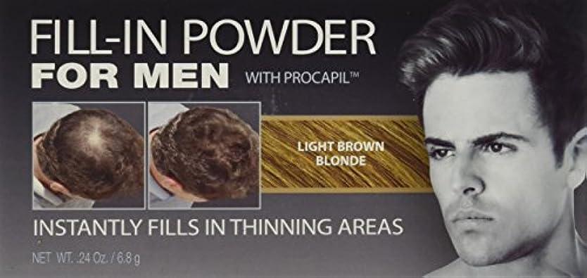 クロニクル家畜世界Cover Your Gray Fill-In Powder for Men Light Brown/Blond (並行輸入品)