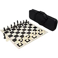 Heavy Tournament Triple Weighted Chess Set Combo - Black [並行輸入品]