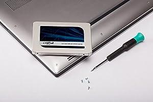 Crucial SSD 1000GB 内蔵2.5インチ 7mm MX500 (9.5mmアダプター付) CT1000MX500SSD1/JP