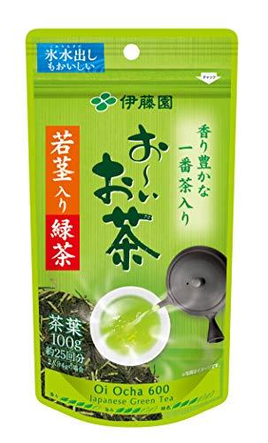 伊藤園 おーいお茶 若芽若茎り緑茶 1袋 100g