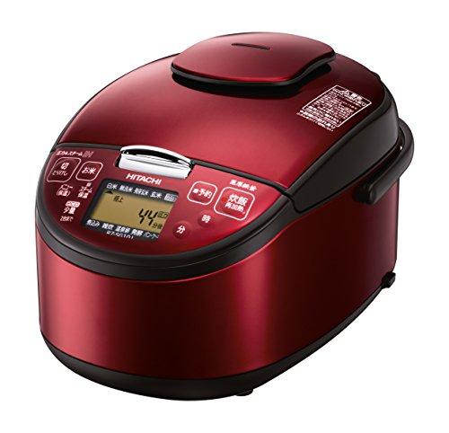 日立 圧力スチームIH炊飯器 5.5合 レッド RZ-SG1...