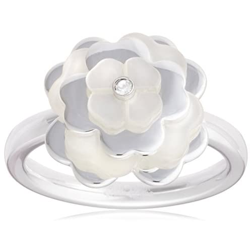 [フォリフォリ] Folli Follie SANTORINI FLOWER RING (2R14F005W) 2R14F005W56 日本サイズ16号