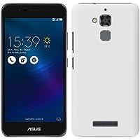 「Breeze-正規品」iPhone ・ スマホケース ポリカーボネイト [White]エイスース ゼンフォン3 マックス ZenFone 3 Max ZC520TL ケース ZenFone 3 MAX カバー液晶保護フィルム付 全機種対応 [ZEN3M]