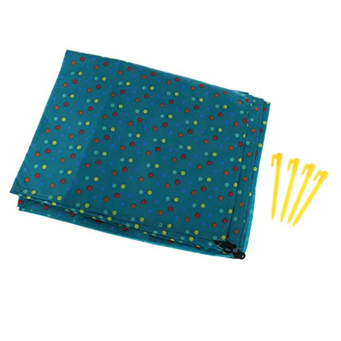 電池スカーフシリアルSM SunniMix テントシート 防水 約150x180cm 防湿層 ピクニックマット 折りたたみ 収納袋付き 全6色