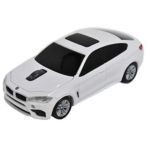 LANDMICE BMW X6シリーズ 無線カーマウス 2.4Ghz 1750dpi ホワイト BM-X6M-WH LANDMICE [簡易パッケージ品]