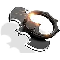 BAIKE スマホリング ホールドリング 薄型 リングホルダー バンカーリング スマホスタンド 指輪リング 360度回転 iPhone / iPad / Galaxy / Android / スマホタブレット用スタンド/ 落下防止リング (黒)