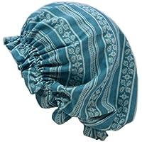 ナイトキャップ 日本製 コットン100% ルームキャップ 室内帽子 キューティクル パサつき予防 抜け毛防止 おしゃれ 美髪 ねぐせ 寝癖