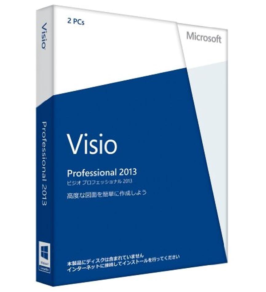練習した性的ベテラン【旧商品/2016年メーカー出荷終了】Microsoft Office Visio Professional 2013 通常版 [プロダクトキーのみ] [パッケージ] [Windows版](PC2台/1ライセンス)