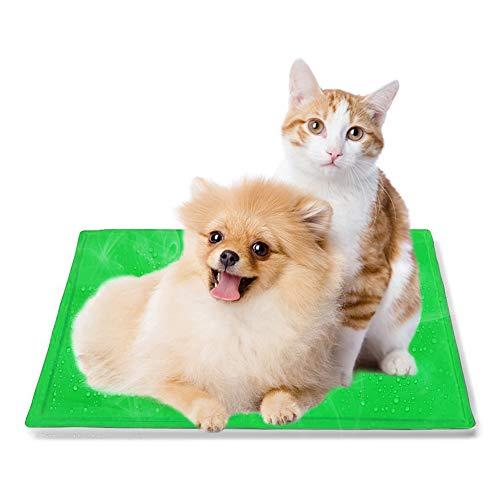 Hoomoi ペット冷却マット ペット用ひんやりマット 犬猫用 多用途 ひえひえ爽快 折り畳み 涼感冷感マット 熱...