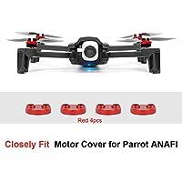 アルミニウム合金モーター保護カバー 傷つきにくい 防塵 防水 Parrot Anafi用 4個 681385398748