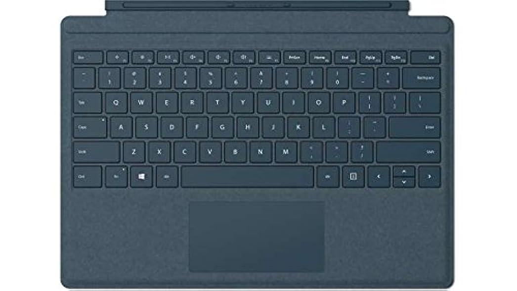苦情文句秘密のどこでもマイクロソフト Surface Pro タイプカバー コバルトブルー FFP-00039