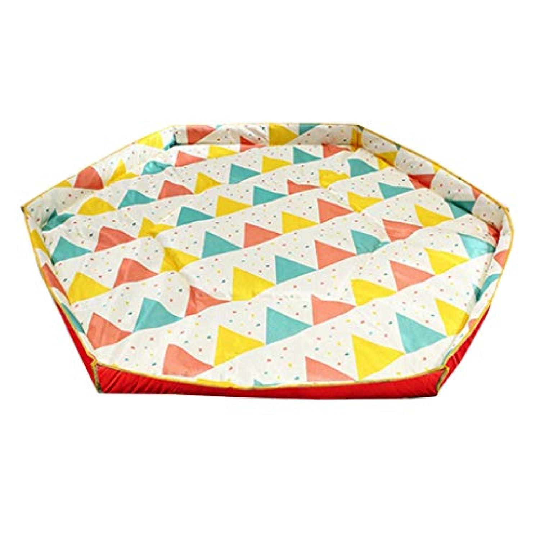 ゲームフェンスパッドゲームパッド保護フェンスパッド六角パッド (Color : Red)