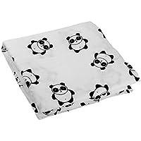Kyapoo Baby Muslin Swaddle Blankets 100% Cotton Panda Large 47'' X 47'' 1 Pack [並行輸入品]