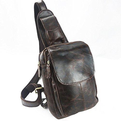 [COZY:コウズィ] 本革 高品質 メンズ 肩掛けバッグ ...