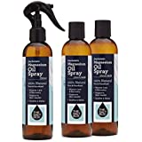 The Salt Box 100% Natural Zechstein Magnesium Oil 250ml with 2x Refills 750ml total Pure Unrefined Magnesium Supplement – Australian Owned