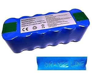 ルンバ用バッテリー 長寿命3年 長時間稼動 500・600・700・800シリーズ対応 【1年保証付き Orange Line 】【互換品】