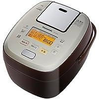 パナソニック 5.5合 炊飯器 圧力IH式 おどり炊き ブラウン SR-PA106-T