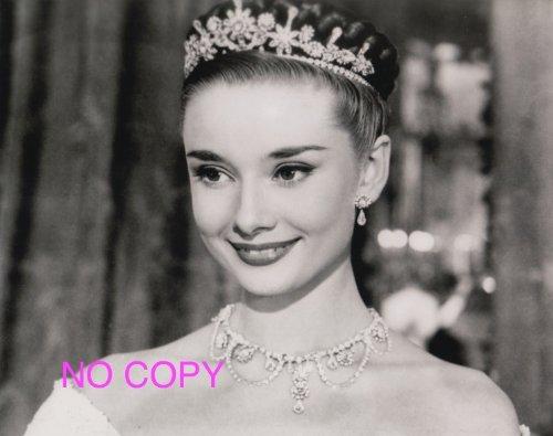 大きな写真、「ローマの休日」オードリー、プリンセスの微笑み、...