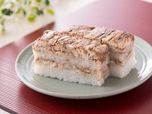 煮穴子寿司・小サイズ:福井一、鯖を扱う料理店の押し寿司