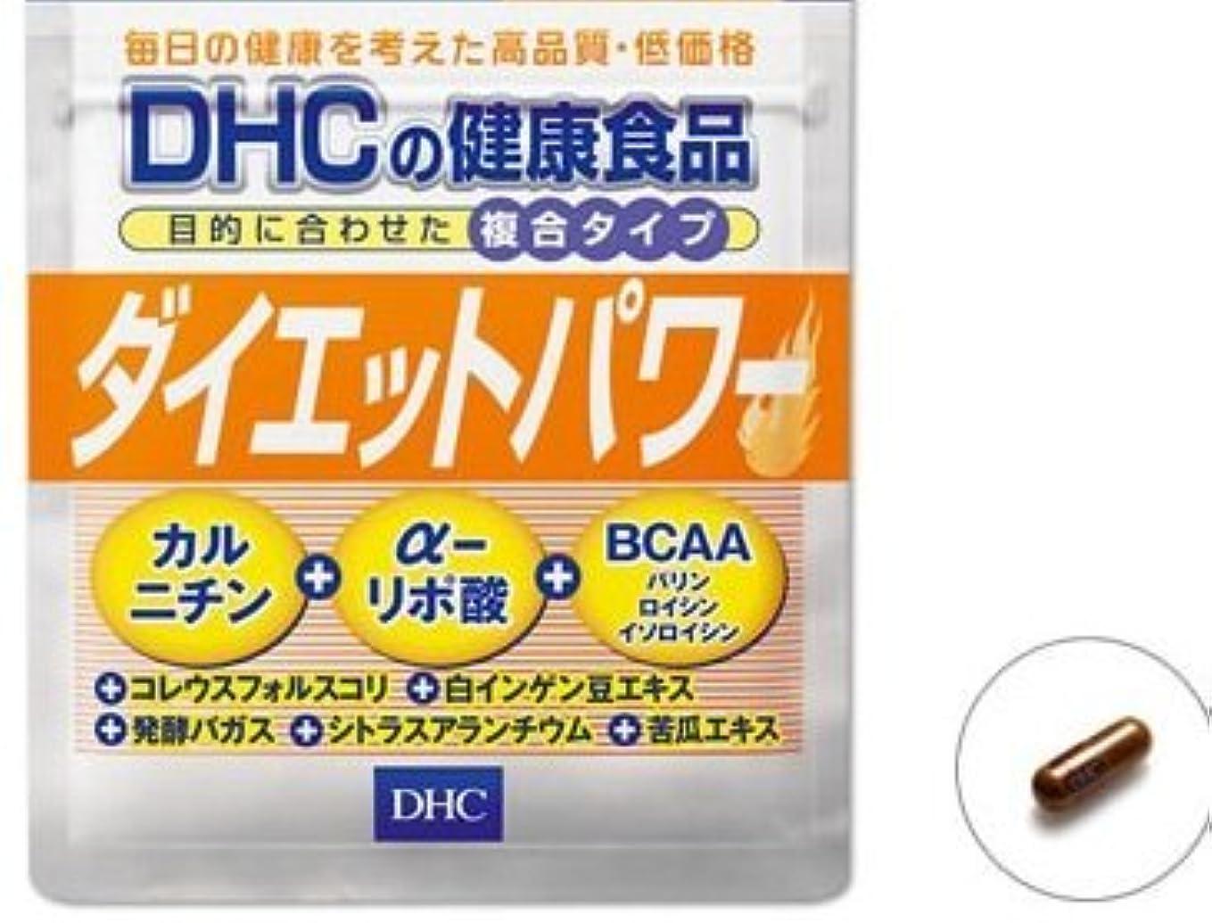 略奪メンバー付けるDHC ダイエットパワー 20日分 × 5セット