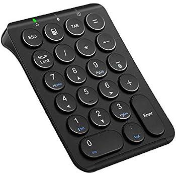 iClever テンキー Bluetooth 多機種対応 Tabキー付き