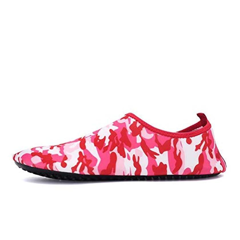 娯楽低い招待裸足の水の靴、恋人の夏の屋外の速い乾燥した水靴、水泳の靴のスポーツのアクア?シューズの船遊び,b,36