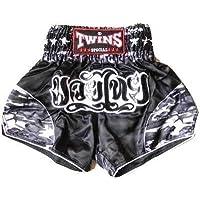 ?代引可?新品 サテン 114 TWINS ボクシングパンツ 黒迷彩
