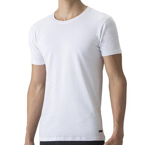 『セーレン デオエスト 消臭アンダーシャツ・ウォーム(丸首・半袖) ホワイト L』のトップ画像