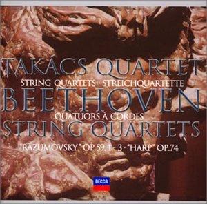 ベートーヴェン: 中期弦楽四重奏曲集 弦楽四重奏曲第7番~第10番