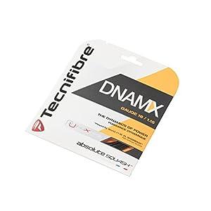 テクニファイバー(Tecnifibre) スカッシュ用ストリング、ゲージ1.15mm DNAMX 1.15 TF DN 115 ブラック 1.15